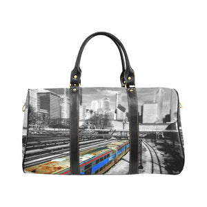 Chicago Train Waterproof Travel Bag