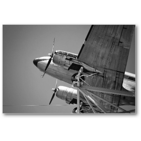 Airplane B&W