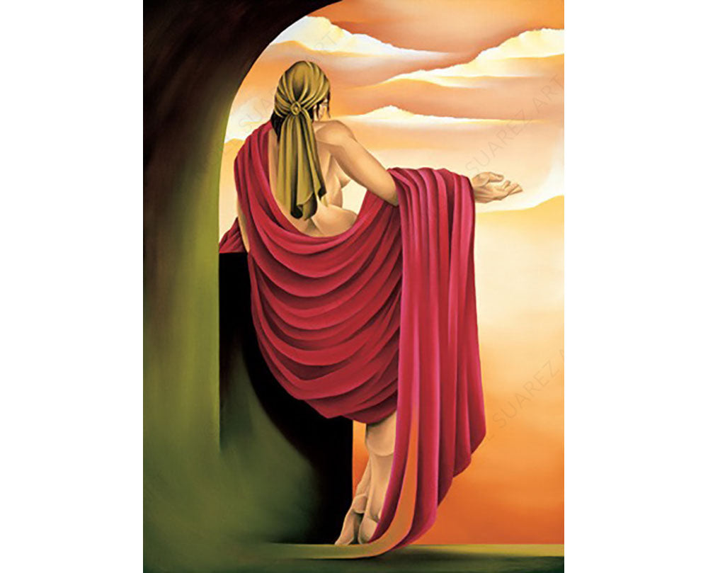 THE OFFERING Noel Suarez art deco painting