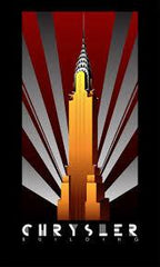 art deco chrysler building