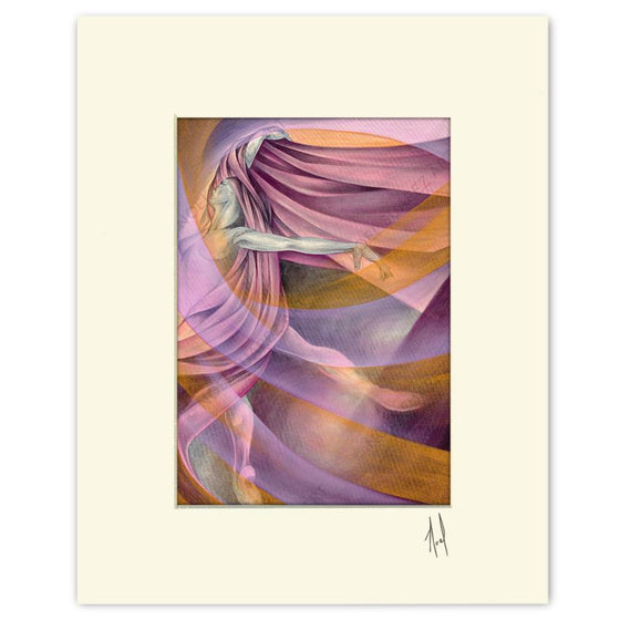 """Arabesque"" Matted Print"