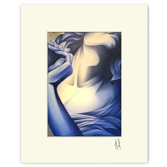 """Lost in Motion VIII"" Matted Print"