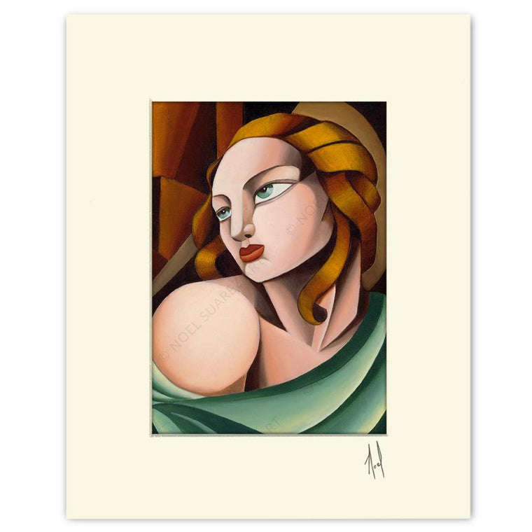 """Madonna"" Matted Print"