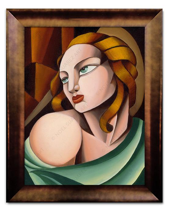 """Madonna"" Framed Giclée on Paper (Frame received may differ from the one pictured)"