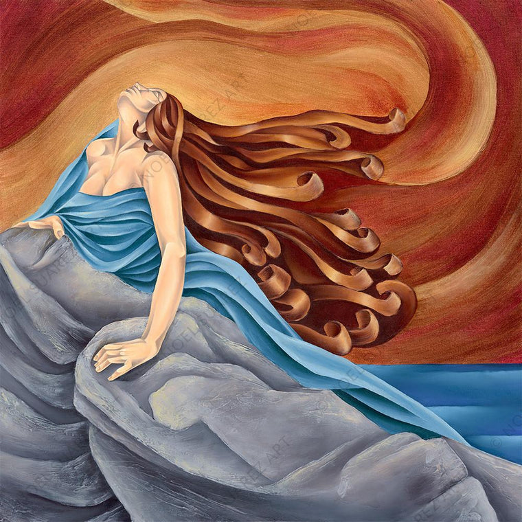 """Marea Alta"" Limited Edition Giclée on Canvas Print by Noel Suarez"