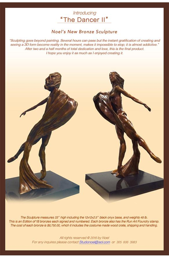 """The Dancer II"" Informational Sheet"