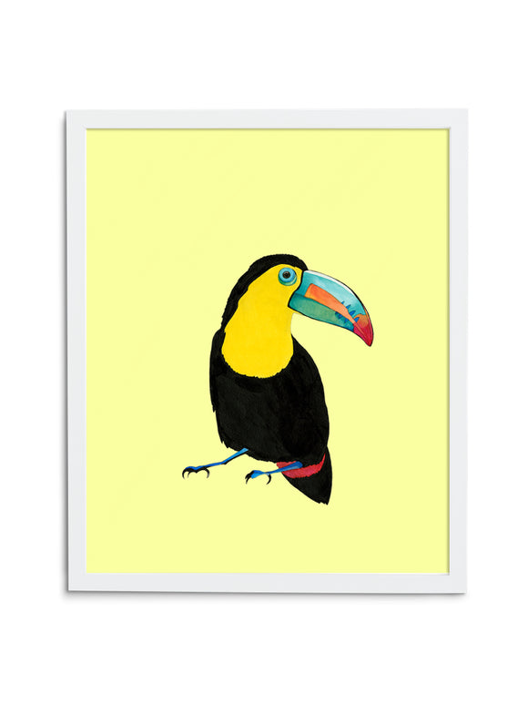 Toucan—Yellow - Wee Wild Ones - Art Prints