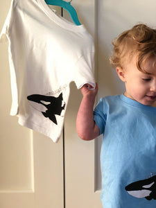 Orca Tee - Wee Wild Ones - Art Prints
