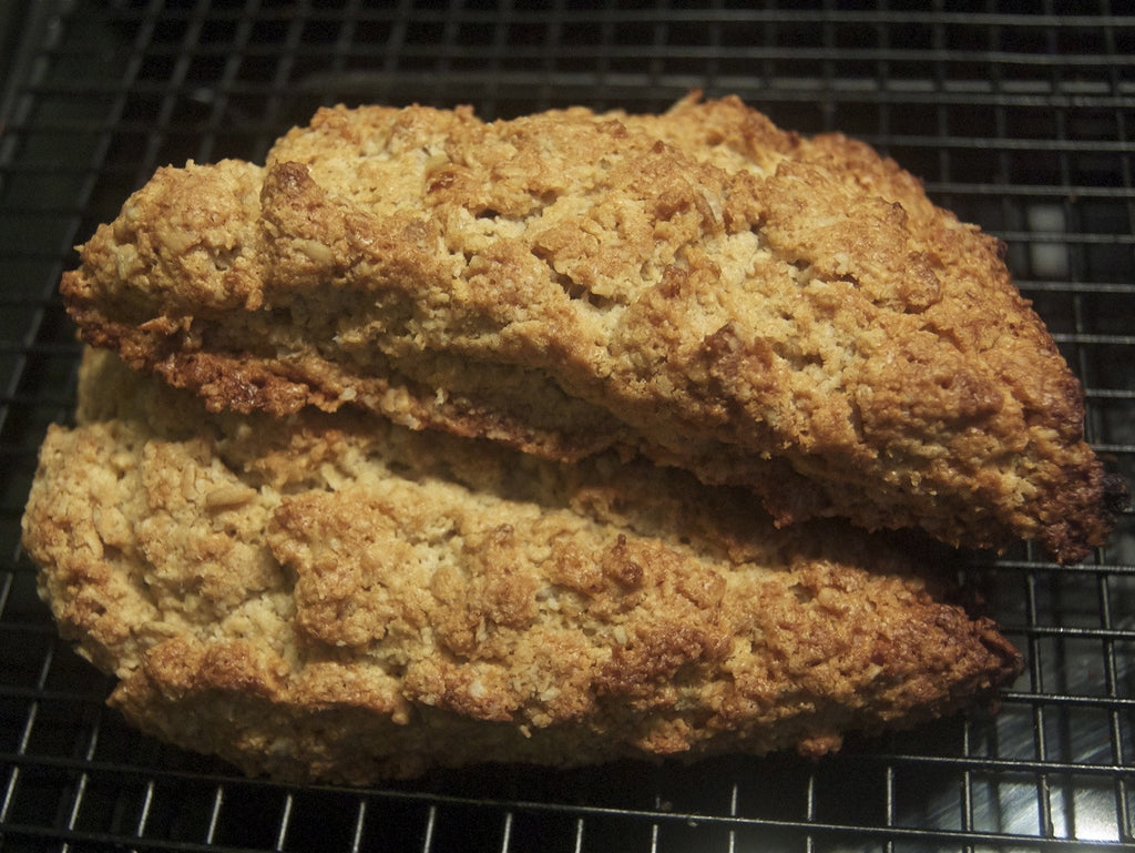 Old Scottish Oat Scones (Base Recipe)