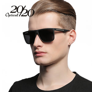 20/20 Brand Fashion Black Sunglasses Men Polarized Driving Sun Glasses FPSMSN12