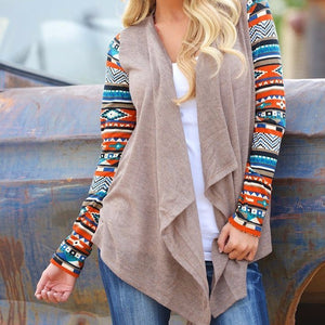 Asymmetrical Knitted Sweater casual Cardigans Jackets Air conditioning coat FPSWSW26