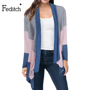 Women Casual Cardigan Elegant Ladies Loose Women Sweater High Quality FPSWSW26