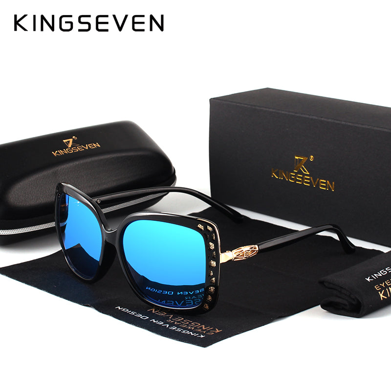 KINGSEVEN 2017 New Women Fashion Brand Designer Oval FPSWSN25