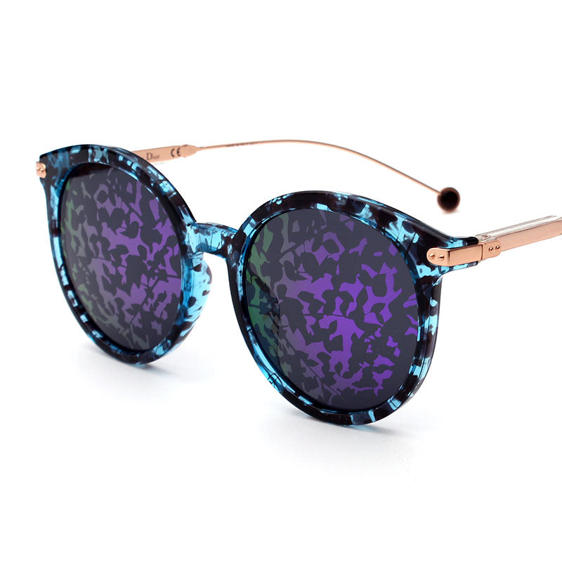 Lovesun Creative Round Steampunk Sunglasses Women and FPSWSN25