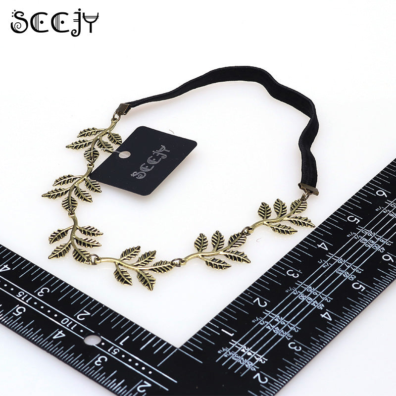 SCCJY Fashion Gold Alloy Romantic Olive Branch FPSWHA20