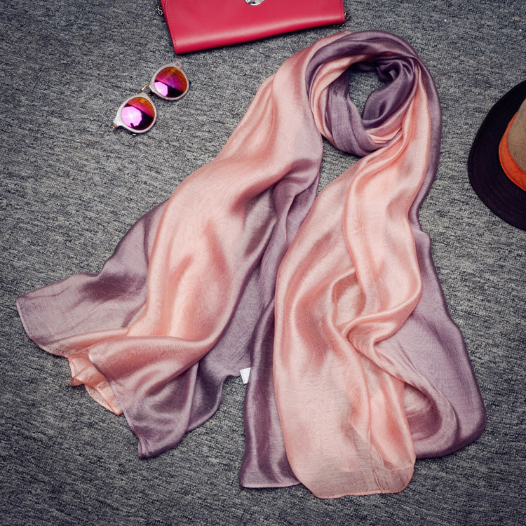 Size 190*100cm 2017 New Silk Scarves FPSWS024