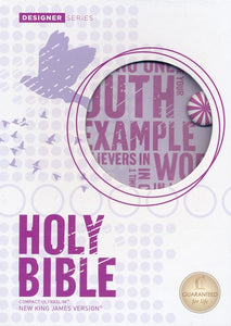 NKJV Compact Ultraslim Bible, Powder purple