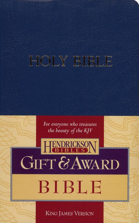 KJV Gift & Award Bible, Blue