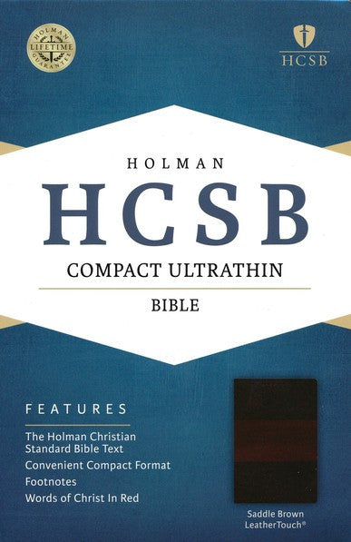 HCSB Compact Ultrathin, SaddleBrown Leathertouch
