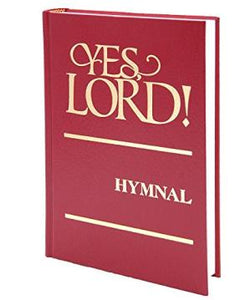 Yes, Lord! Church of God in Christ Hymnal - Red