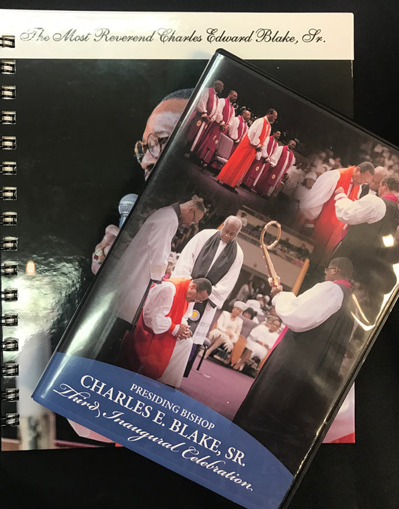 Bishop Charles E. Blake Inaugural DVD/Book Set