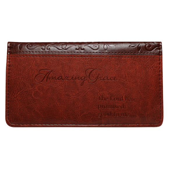Amazing Grace Checkbook Cover