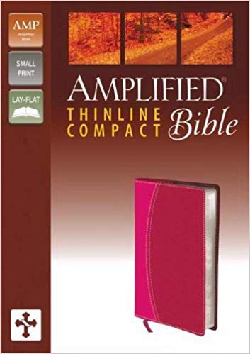 Amplified Thinline Bible/Compact-Magenta/Razzleberry DuoTone