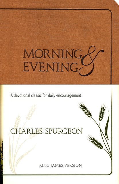 Morning & Evening Brown Devotional