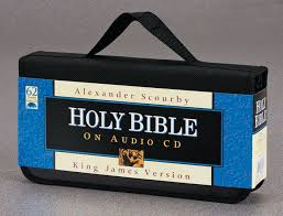 KJV Voice-Only Audio Bible on CD - Narrated By: Alexander Scourby