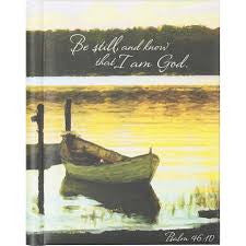 "Psalm 46:10 ""Be Still"" Journal"