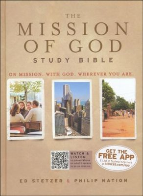 The Mission of God Study Bible (Hardback)