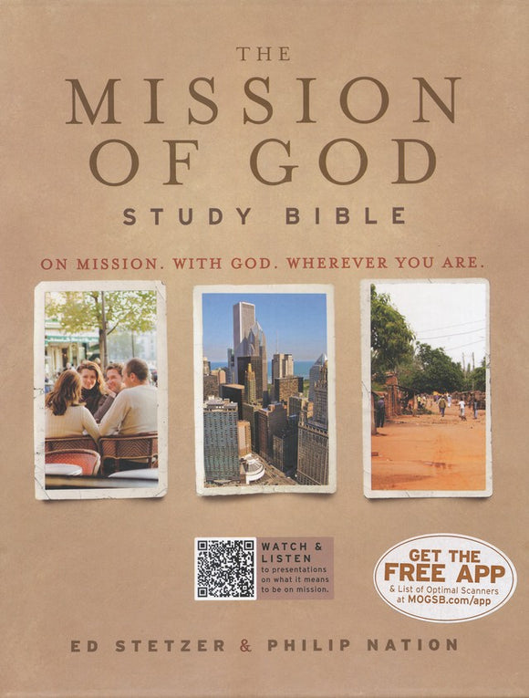 The Mission of God Study Bible (Brown and Tan)