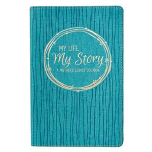 My Life, My Story,  Legacy Journal -Turquoise
