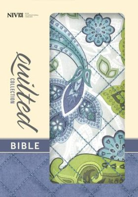 Quilted Collection Bible (Blue Paisley)