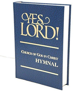 Yes, Lord! Church of God in Christ Hymnal - Blue