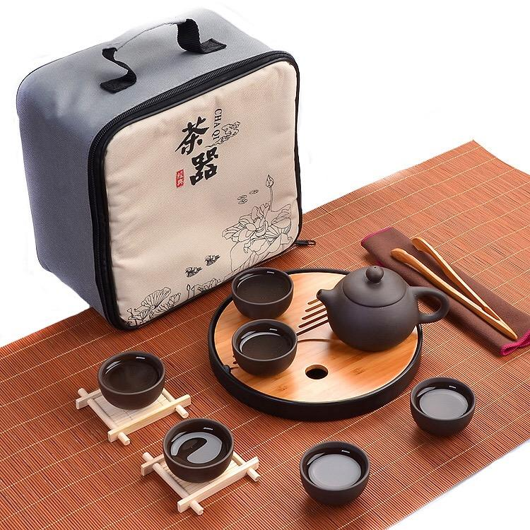 Travel tea service kit. Direct from china to you