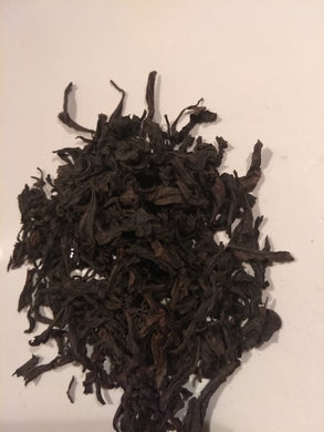 Dao Hong Pao, from 700 M in Zheng Yan, Wuyi Shan, Fujian province, China