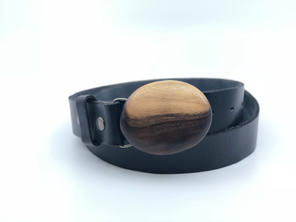 Black walnut Belt Buckle