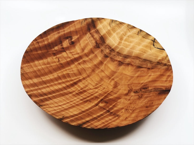 Curly Redwood Bowl