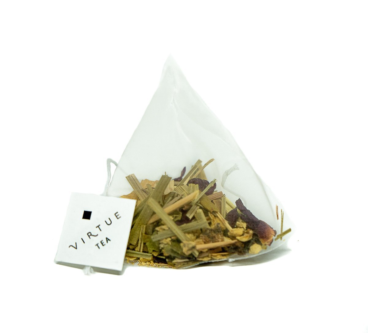 Ginger Lemongrass Hibiscus  - tea bags - VIRTUE Tea