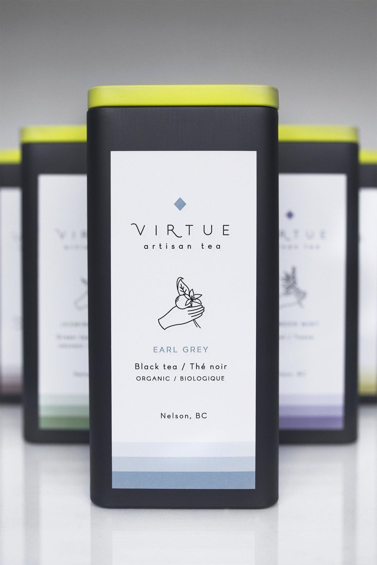 Tea Tins - VIRTUE Tea