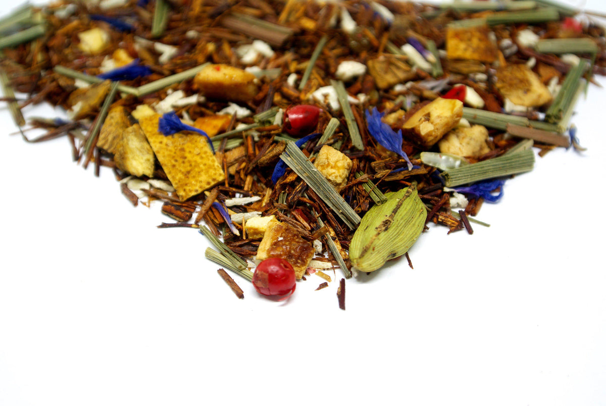 Zesty Rooibos pyramidal tea bags - VIRTUE Tea