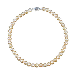Pink Freshwater Cultured Pearl Circlé Necklace (8.5-9.5mm), 17.5 Inch Princess Length