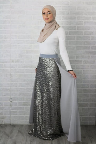 9.1 Skirt - Afflatus Hijab - Afflatus Hijab Casual Dressy Fashion Formal