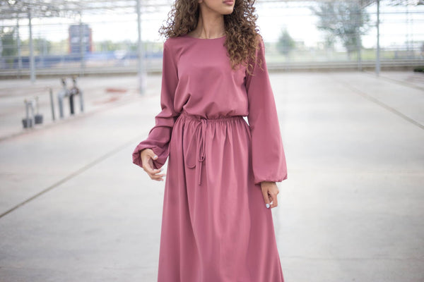 Fatin Assaf - Afflatus Hijab - Dresses, hijab fashion, maxi dress, modest, modest clothing