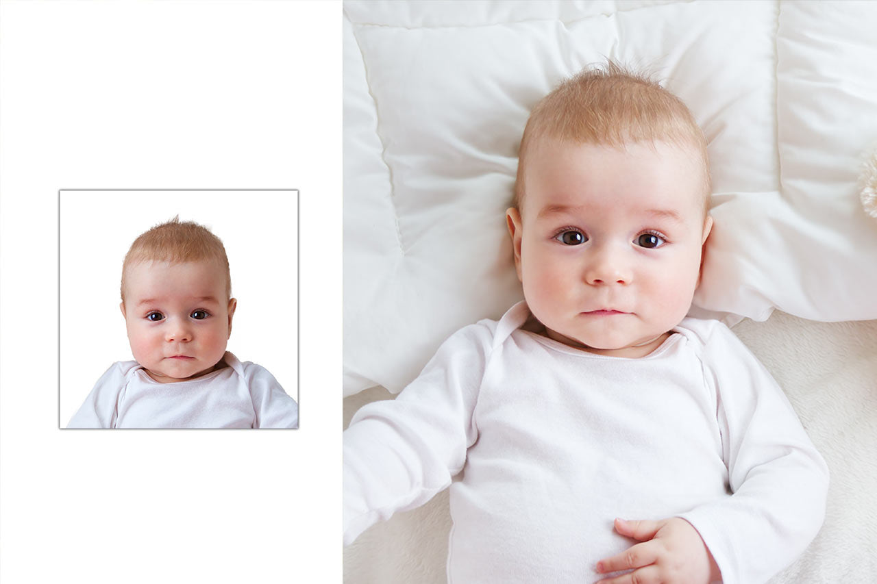 Baby passport photo online done easy and fast