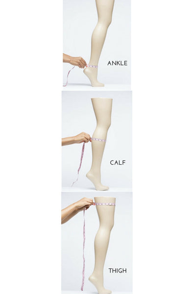 How to measure legs for sizing of The Leg Glove