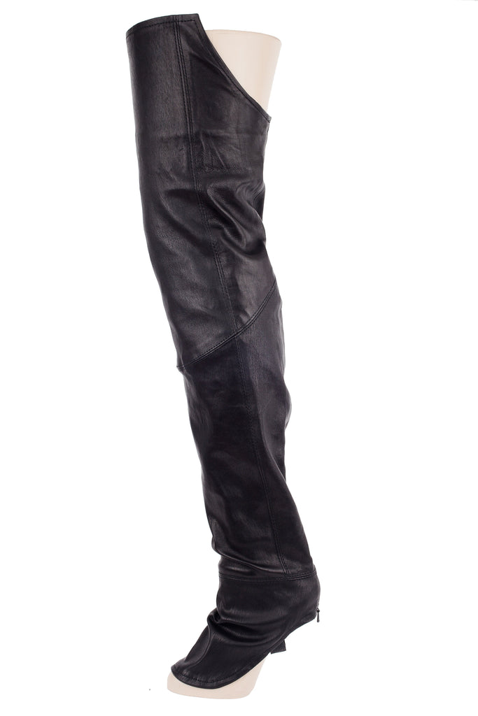 The Leg Glove- Rain • Genuine Stretch Lambskin Leather• - The Leg Glove
