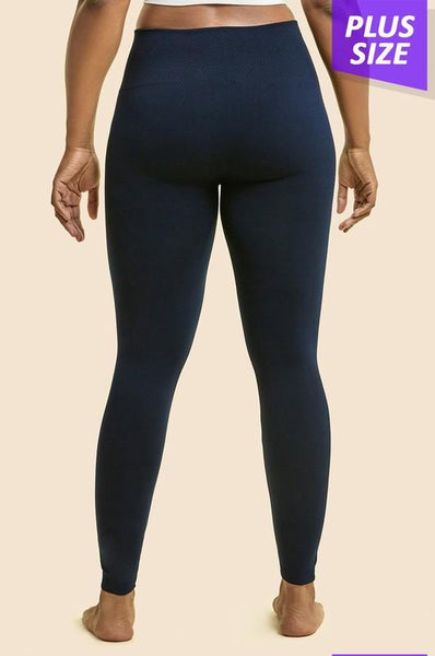 High Waisted Fleece Leggings - More Colors!