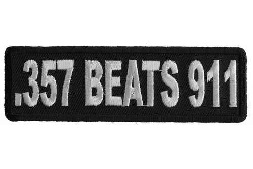 .357 Beats 911 Patch
